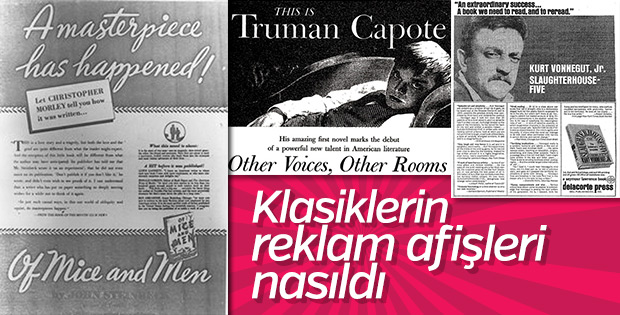 Klasiklerin reklam afişleri