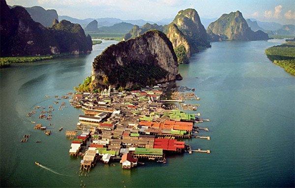Okyanus üzerinde kurulu ada: Koh Panyee