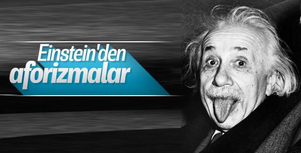 Einstein'den aforizmalar