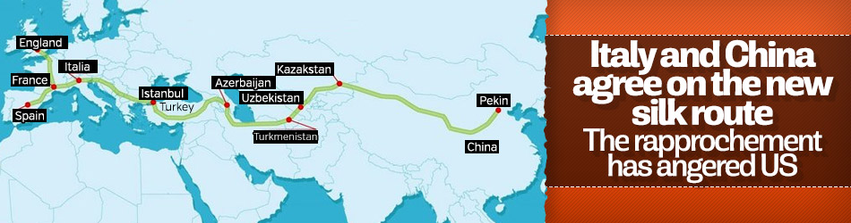 Italy and China come to agreement on the new silk route