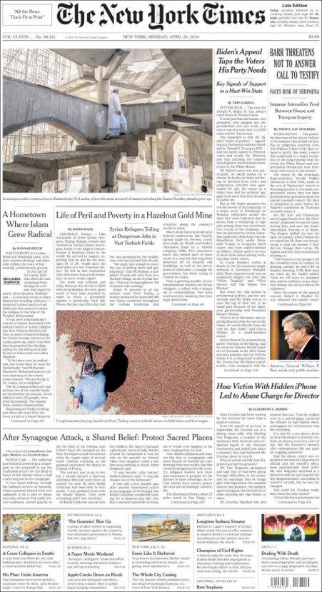 New York Times: Türkiye'den fındık almayın