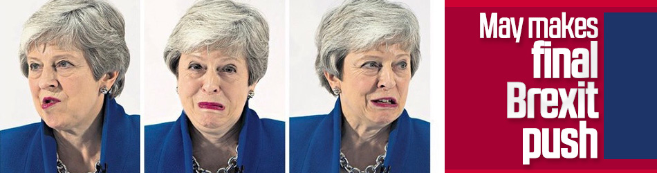 UK PM makes her final attempt to enact Brexit