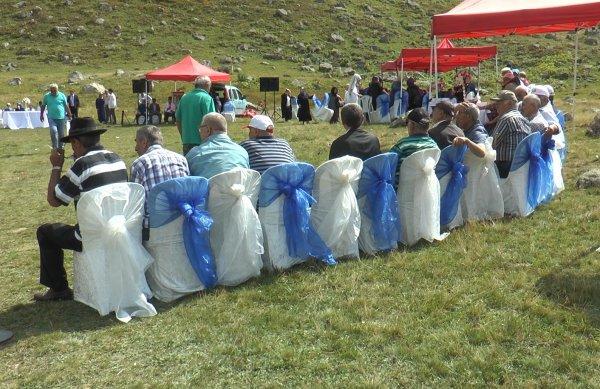 Rize'de 2 bin metrede sünnet düğünü yapıldı