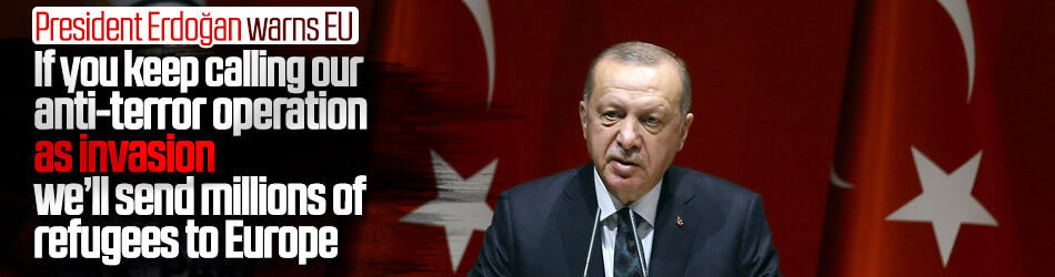 Erdoğan urges EU countries on Operation Peace Spring