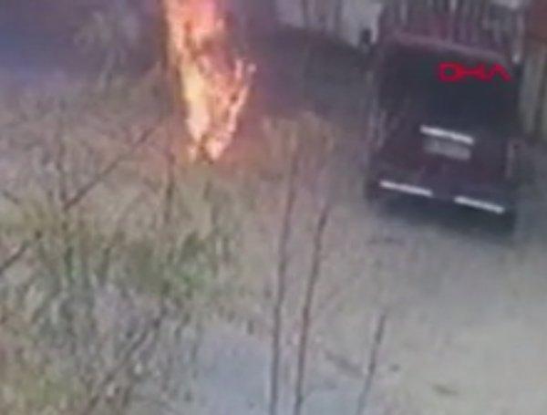 Uşaklı işçi sobayı tutuşturmak isterken kendini yaktı