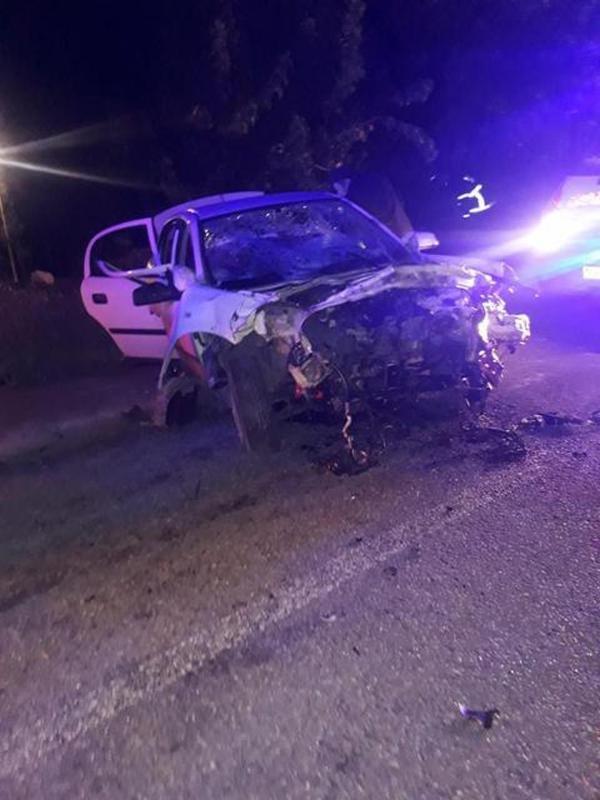 Aydın'da otomobil ile kamyonet çarpıştı: 5 yaralı