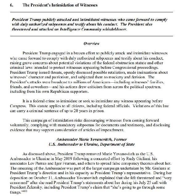 ABD Temsilciler meclisi azil raporunu hazırladı