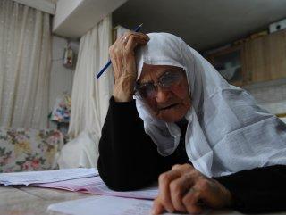 85 yaşındaki kadının başarı hikayesi