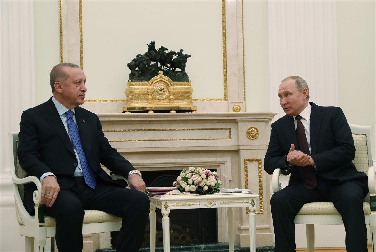 Putin'den Cumhurbaşkanı Erdoğan'a kahvaltı tavsiyesi