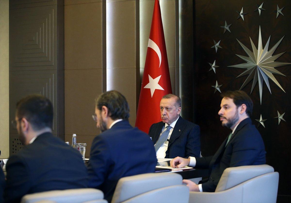 Erdoğan, telekonferansla G20 Zirvesi'ne katıldı
