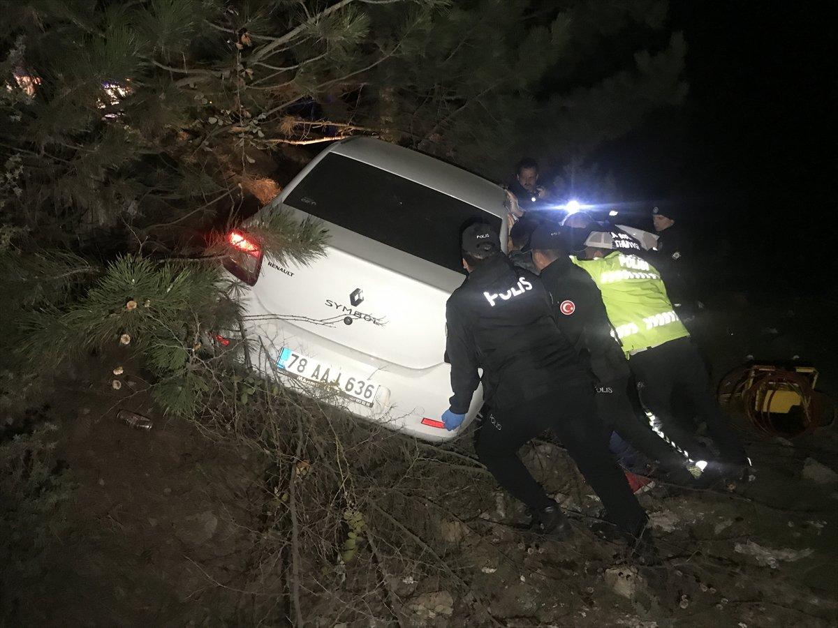 Karabük'te trafik kazası: 1 ölü 3 yaralı