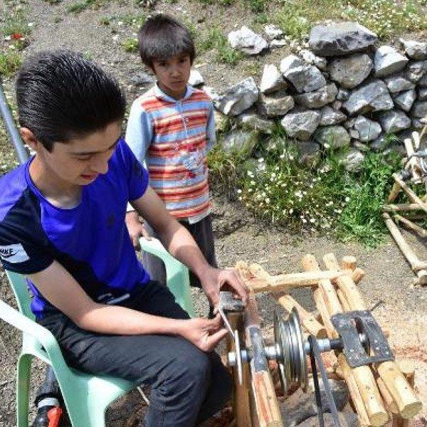 Muğlalı genç, icatları ile TÜBİTAK'tan destek sözü aldı