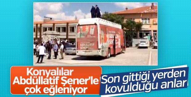 Konyalılar, Abdüllatif Şener'i istemiyor