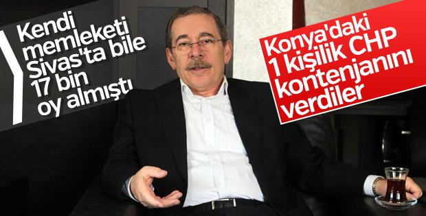 CHP'nin Konya planı