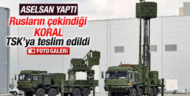 ASELSAN radar karıştırıcı KORAL'ı TSK'ya teslim etti