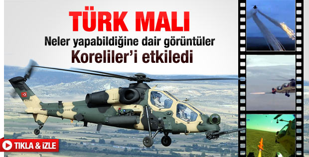 Milli helikopterimiz parmak ısırtıyor