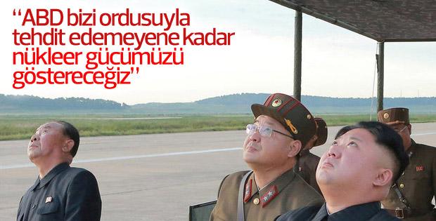 Kuzey Kore lideri: ABD ile güç dengesini sağlayacağız