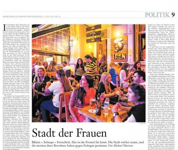 Alman medyasının İzmir analizi