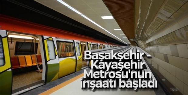 Kayaşehir'e metro hattı inşa edilecek