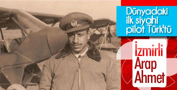 İlk siyahi pilot bir Türktü