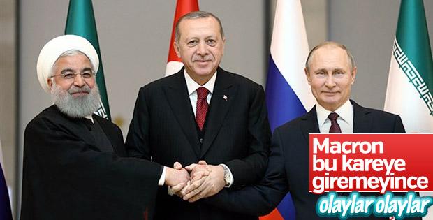 Macron'un Türkiye düşmanlığının perde arkası