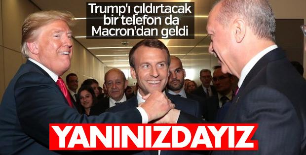 Başkan Erdoğan ile Macron görüştü