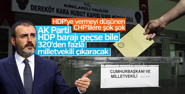 Meclis yarışında AK Parti cephesinde son durum