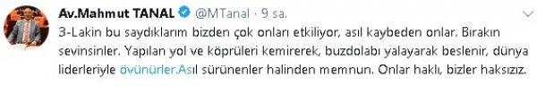 CHP'li Mahmut Tanal'dan seçmeni aşağılayan paylaşımlar