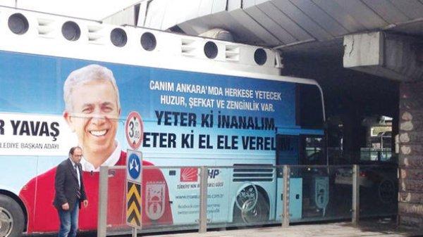 CHP, partililerini aşağıladığı için Yavaş'a mesafeli