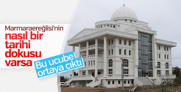 Marmaraereğlisi'nin yeni belediye binası