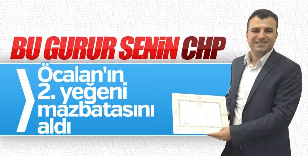 Ömer Öcalan milletvekilliği mazbatasını aldı