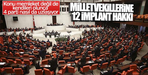 Meclis, milletvekillerinin sağlık yardımlarına zam yaptı