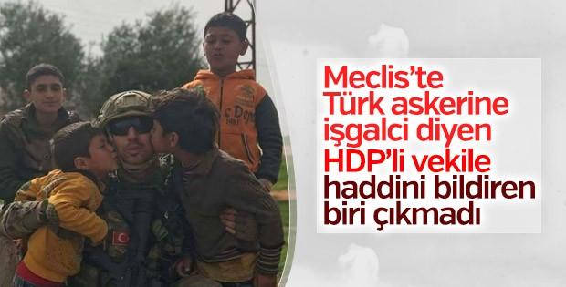 HDP'li vekil Afrin'i işgal olarak nitelendirdi
