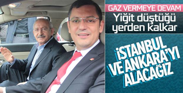 CHP: Ankara ve İstanbul'u alacağız