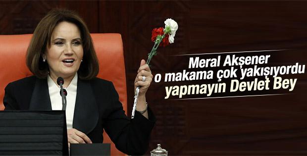 MHP'nin TBMM Başkanvekili adayı Koray Aydın olacak