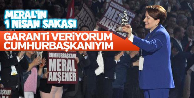 Meral Akşener iktidar olma sözü verdi