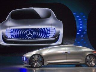 mercedes yeni lüks otomobilini tanıttı