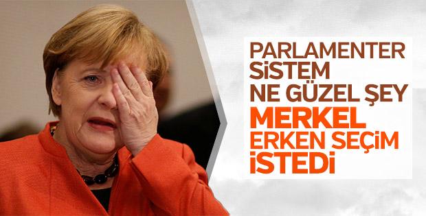 Merkel'den koalisyon krizi açıklaması