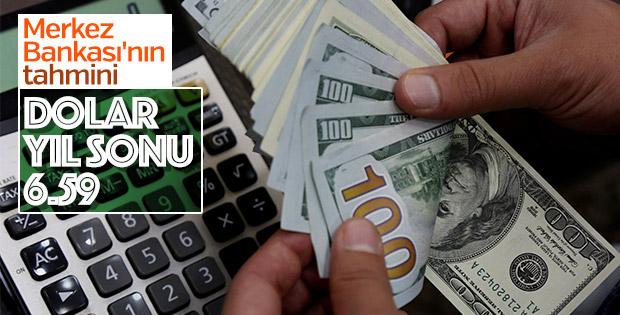 TCMB anketinde yıl sonu dolar kuru beklentisi yükseldi