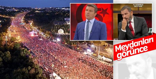 Meydanların dili Fatih Portakal'ın yüzüne yansıdı