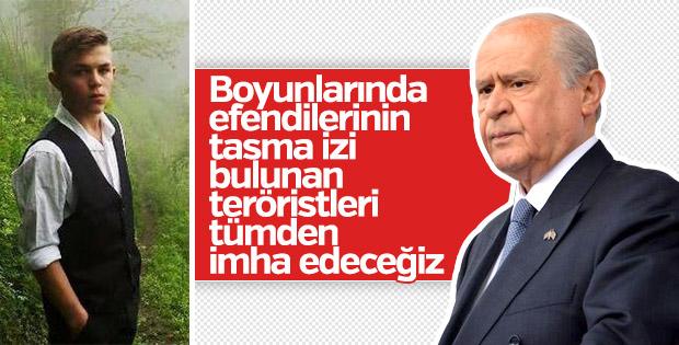 Devlet Bahçeli'den şehit Eren Bülbül paylaşımı
