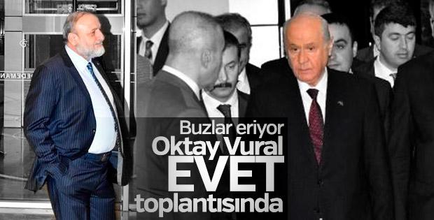MHP'nin referandum toplantısı Konya'da başladı