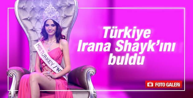 Miss Turkey'in birincisi Amine Gülşe oldu