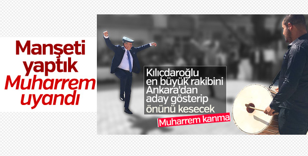Muharrem İnce Ankara tuzağına düşmedi