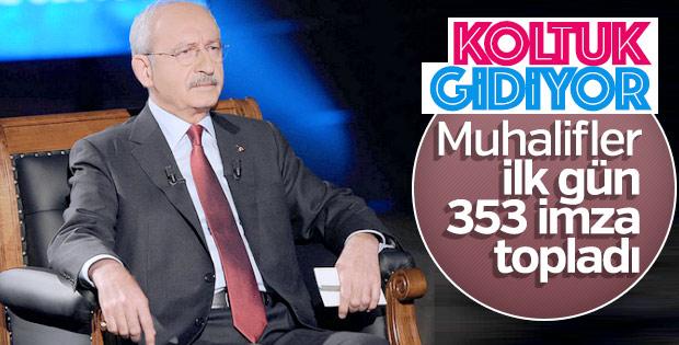 CHP'de muhaliflerin ulaştığı imza sayısı
