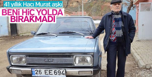 41 yıllık yol arkadaşı Murat 131'den vazgeçmiyor