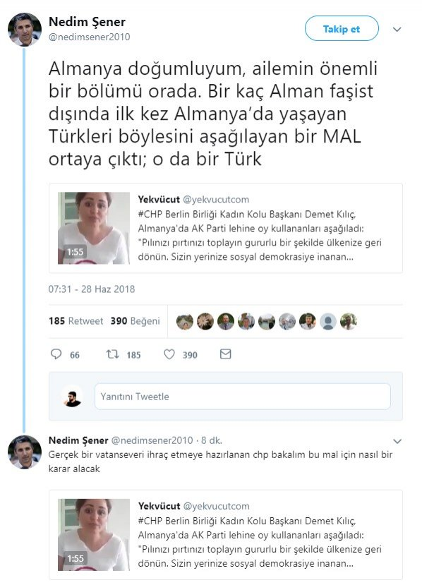 Nedim Şener'den CHP'liye tepki: MAL