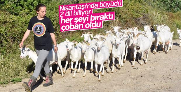 Nişantaşı kızı çoban oldu