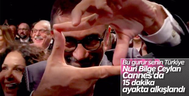 Cannes'da Nuri Bilge Ceylan coşkusu