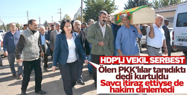 HDP'li vekil hakkında tahliye kararı